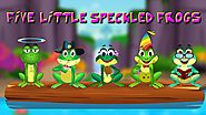 Five Little Speckled Frogs Nursery Rhyme Online with Video & Lyrics