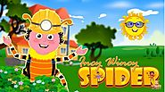 Incy Wincy Spider Nursery Rhymes Song Online at Free