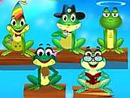 Five Little Speckled Frogs Lyrics & Video Online at Free