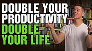How to Be Productive | Stay Motivated and Organized | Double Your Productivity | The 80 20 Rule Law