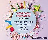 Party Packages- Party Zebra