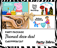 Fun-filled Theme Party Packages by Party Zebra