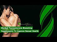 Herbal Testosterone Boosting Supplements to Improve Sexual Health