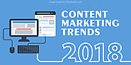 7 Proven Content Marketing Trends that will Dominate 2018 | WittySparks
