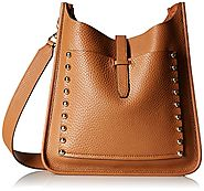 Rebecca Minkoff Unlined Feed Shoulder Bag, Almond, One Size