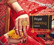Website at http://www.kuberansilks.in/sarees/wedding-sarees