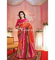 Designer Multi Color Pure Soft Silk Wedding Saree