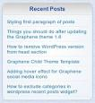 "WordPress › Custom Post Widget "" WordPress Plugins"