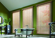 Faux Wood Window Blinds
