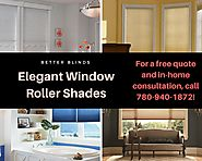 Elegant Window Roller Shades