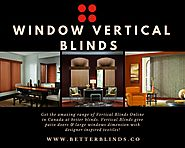 Window Vertical Blinds