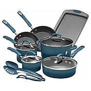 Rachael Ray 14-Piece Porcelain Enamel Cookware Set $89.99 (Black Friday) @ Target