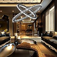 Top 10 Best LED Crystal Chandeliers Reviews 2017-2018 on Flipboard