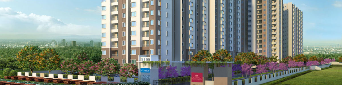 Headline for Only Flats in Chennai with Mivan Constructions- Alliance Galleria Residences Gated community apartments in Chennai