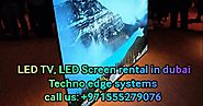LED TV, LED Screen Rental in Dubai - Album on Imgur