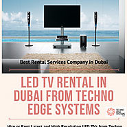 LED Screen Rental Dubai, Led Screen Equipment for Events in Dubai | Visual.ly