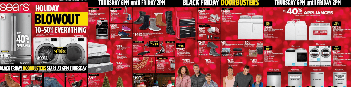 Headline for Sears Black Friday Deals 2017