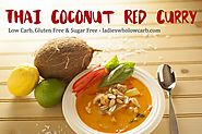 Thai Coconut Red Curry Low Carb & Basil Benefits