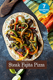 Steak Fajita Pizza