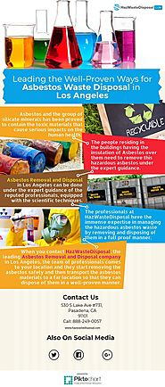 Leading the Well-Proven Ways for Asbestos Waste Disposal in | Piktochart Visual Editor