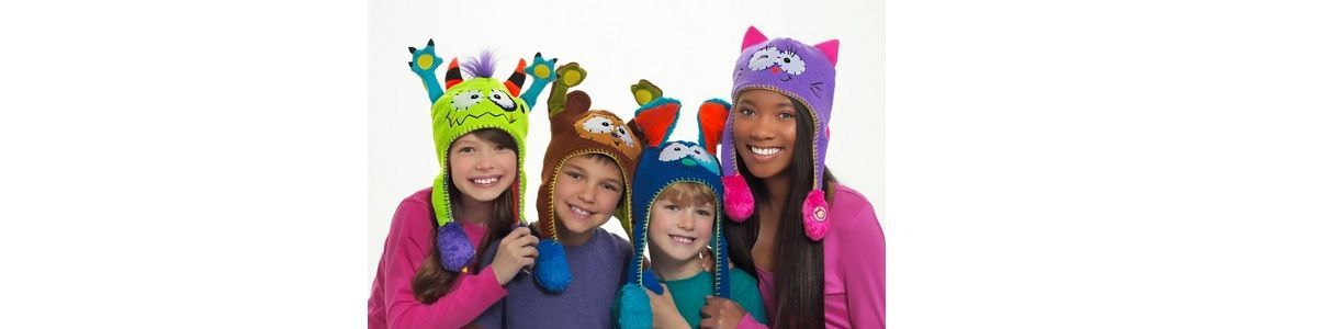 Headline for Flippy Hats for Kids