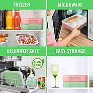 MICROWAVE, FREEZER AND DISHWASHER-SAFE