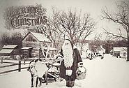 Historical Visit with St. Nick at Shoal Creek Living History Museum - 12/2/17
