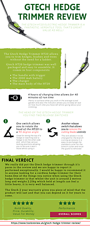 Gtech Hedge Trimmer Review