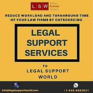 Legal Outsourcing Services to Enhance the Profitability of your Law Firms