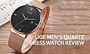 Lige Men's Quartz Dress Watch Review - Infinity Timewatch