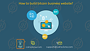 How to build bitcoin business website?