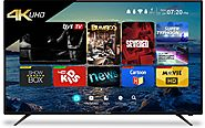CloudWalker Cloud TV 139cm (55 inch) Ultra HD (4K) LED Smart TV Online | No Cost EMI & Exchange Offer