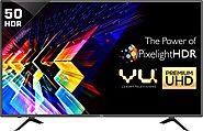 Vu 127cm (50 inch) Ultra HD (4K) LED Smart TV Online | No Cost EMI & Exchange Offer