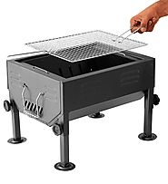 Godskitchen Table Top Barbeque Grill With Stand | 11 Types Of Barbeque Grills & Tandoors