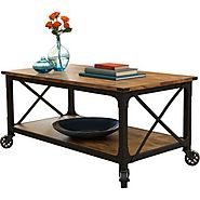 Better Homes and Gardens Rustic Country Coffee Table