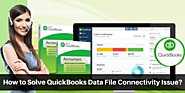 How to Solve QuickBooks Data File Connectivity Issue?