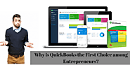 Why is QuickBooks the First Choice among Entrepreneurs?