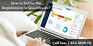 How to Delete the Registration in QuickBooks?