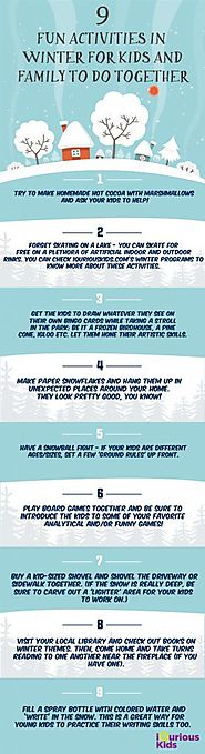 9 Fun Activities in Winter for Kids and Families to do Together