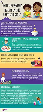 5 Steps to Develop Healthy Eating Habits in Kids