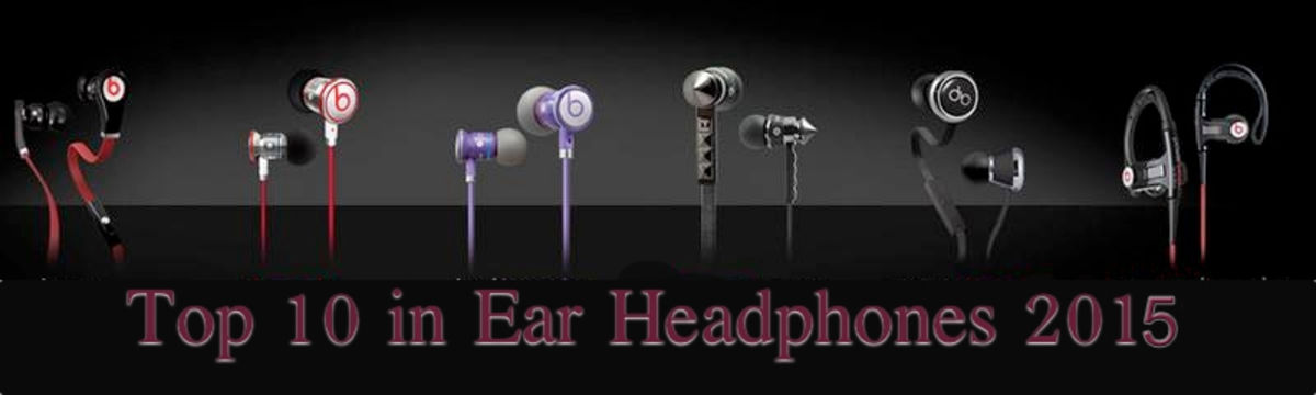 Headline for Top 10 in Ear Headphones 2016 - 2017