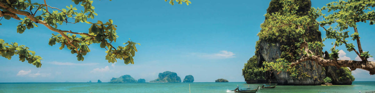 Headline for 8 Honeymoon Locations That Are Famous For island Hopping