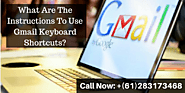 What Are The Instructions To Use Gmail Keyboard Shortcuts?
