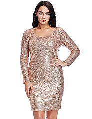 Plus Size Christmas Party Dresses - Absolute Christmas