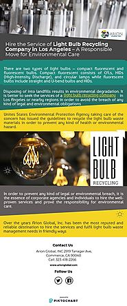 Hire the Service_Light Bulb Recycling Company_Los Angeles | Piktochart Visual Editor