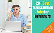 20+ Free Legit Online Transcription Jobs For Beginners($50/Day)