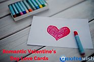 Romantic Valentine's Day Love Cards and Images
