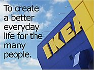 IKEA aims to create a better everyday life for its customers