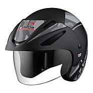 Multiple Benefits of Wearing a Half Face Helmet – Aaron Helmets – Medium