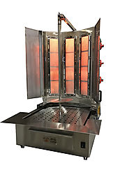 Buy Stainless Steel Shawarma Grill Machine From Spinning Grillers